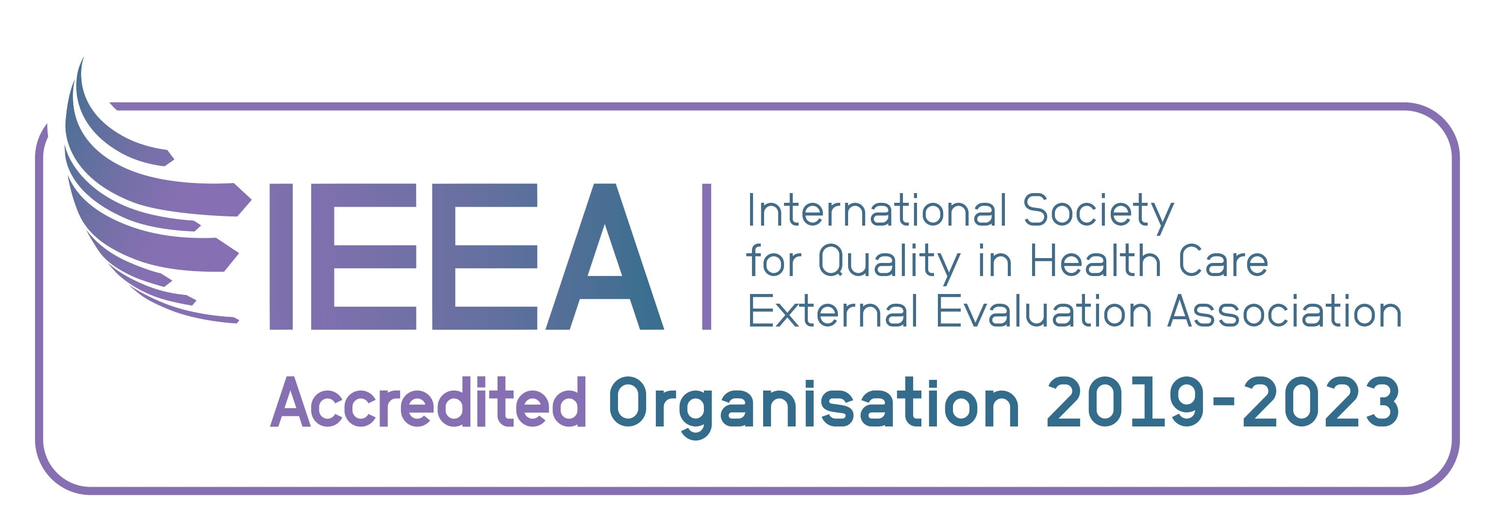International Society for Quality in Health Care External Evaluation Association (IEEA) logo